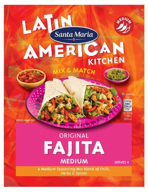 Latin American Medium Fajita Seasoning Mix